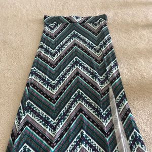 Super Soft and Colorful Charlotte Russe Maxi Skirt